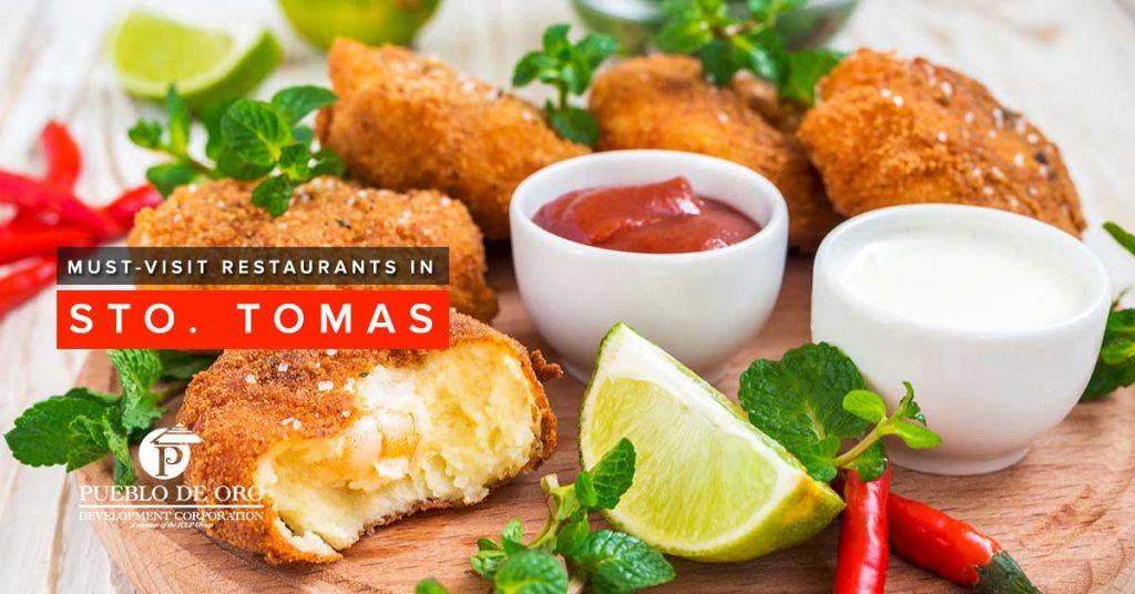3 Must-Visit Restaurants in Sto. Tomas