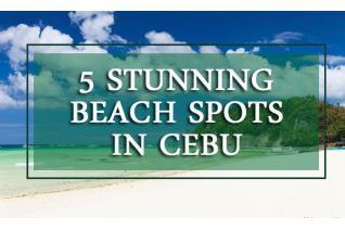 5 Stunning Beach Spots in Cebu