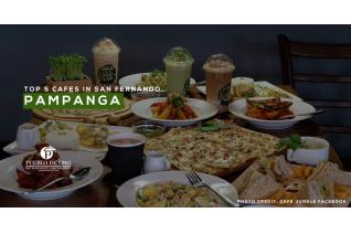 Top 5 Cafes in San Fernando, Pampanga