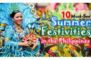 Summer Festivities in the Philippines