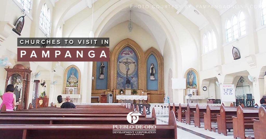 Churches to Visit in Pampanga