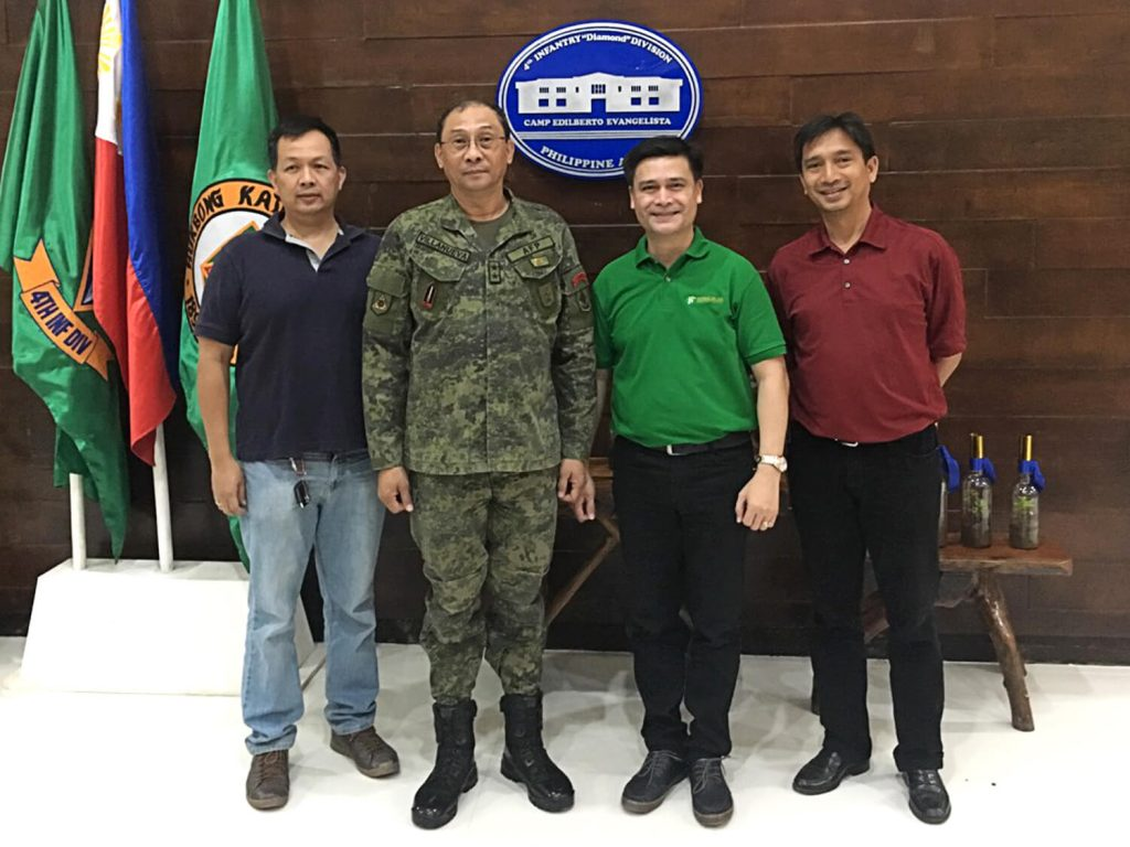 Cdo Courtesy Call With 4id Villanueva