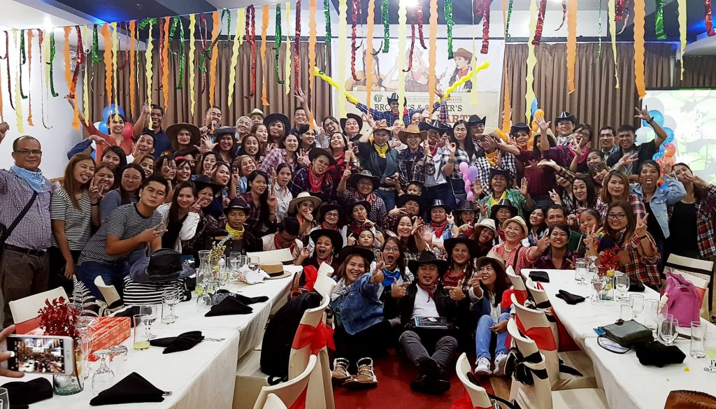 Pueblo Batangas Year-End Christmas Party with Sellers