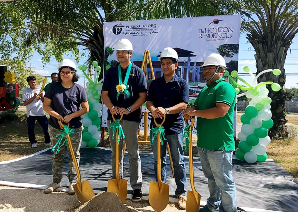 Horizon Residences Pool Breaks Ground