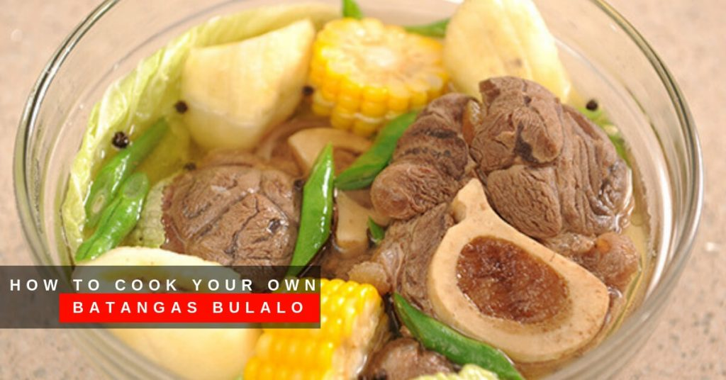 How to Cook Your Own Batangas Bulalo