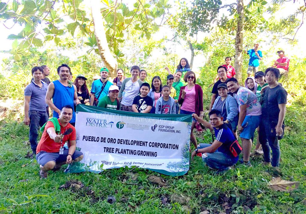 Tree Planting with Metropolitan Cebu Water District