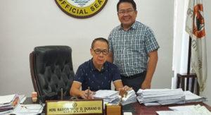 PDO Visayas GM Visits Mayors