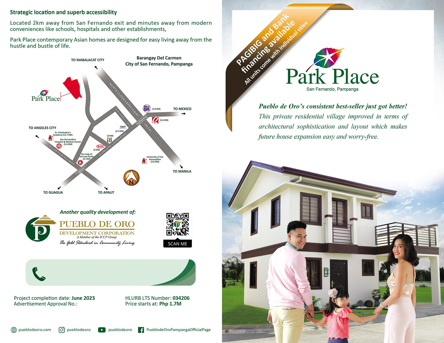 Park Place Pampanga Phase 2 Inner Flyer