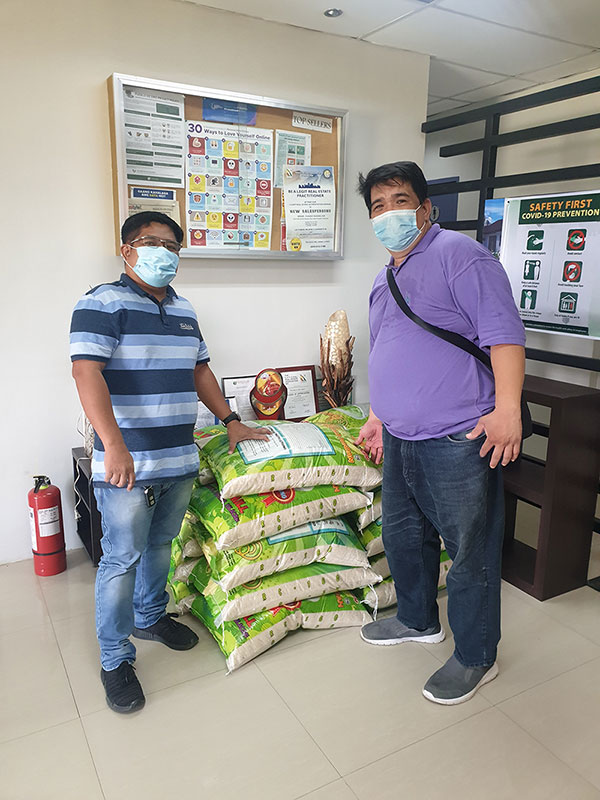 Rice for Hundreds of Families in San Fernando, Pampanga