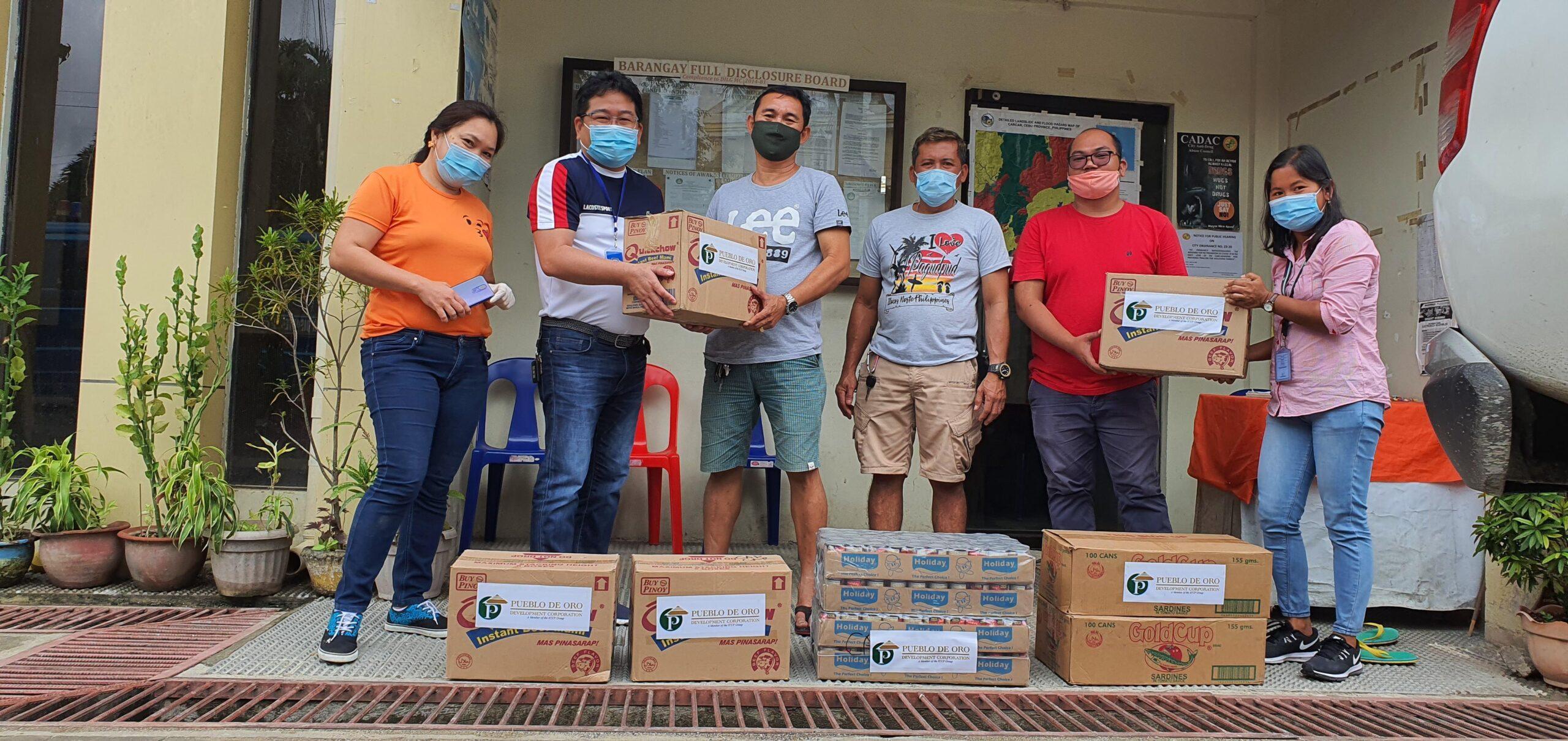 Pueblo De Oro's Grocery Donations
