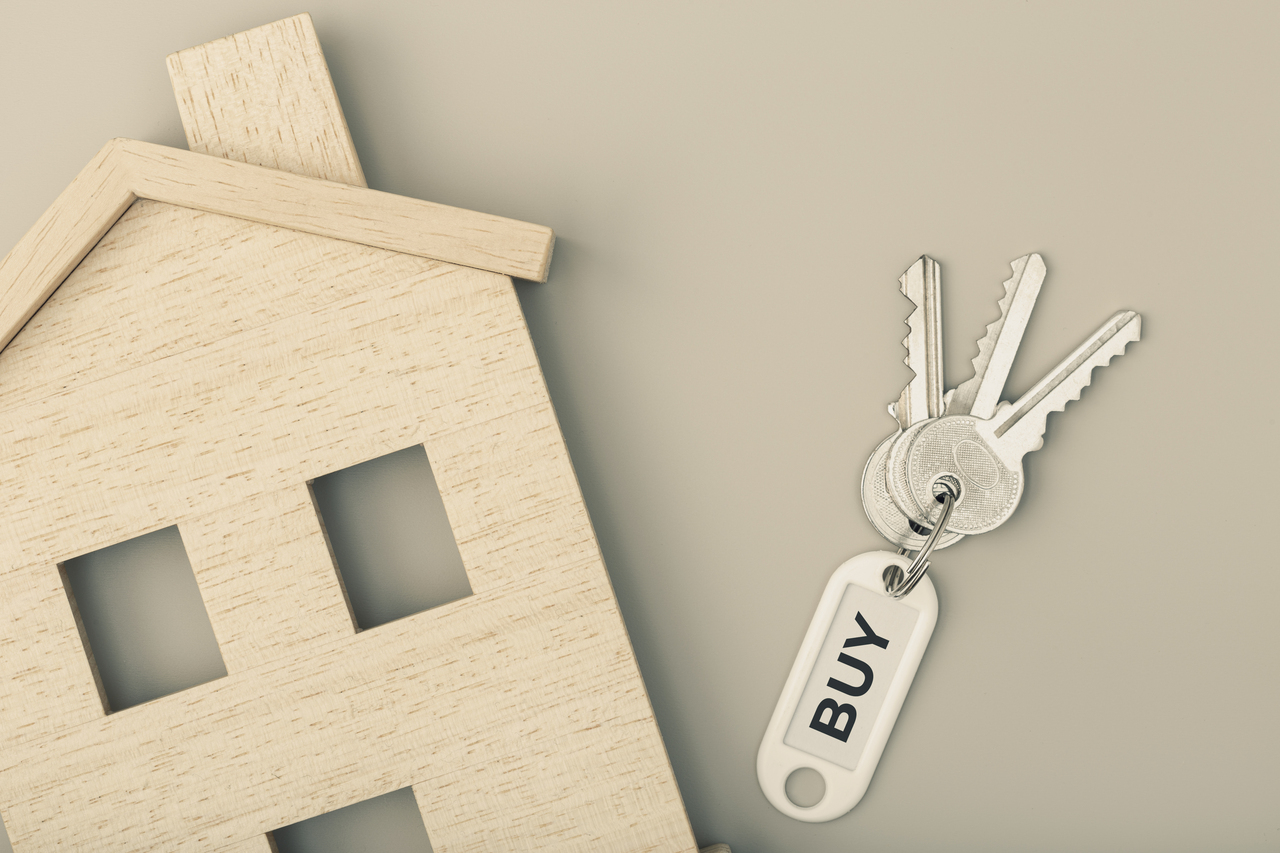 A wooden home with new keys