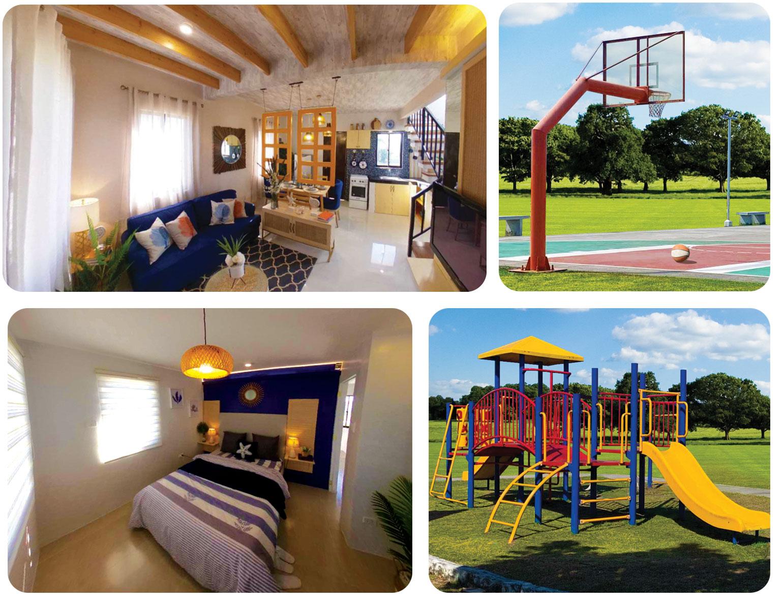 House, Playground, Basketball Court