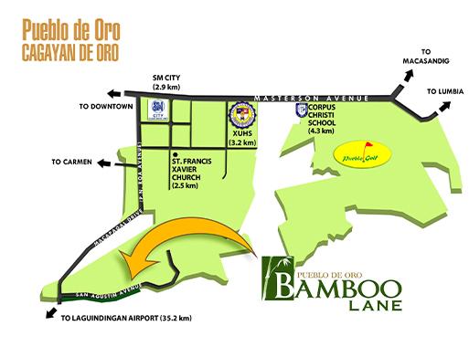 Bamboo Lane Cdo Location