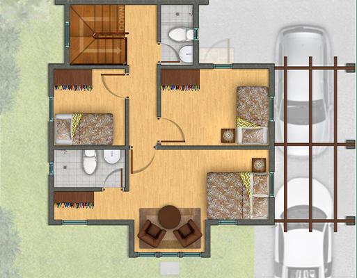 Horizon Residences Sakura Floor Plan Second