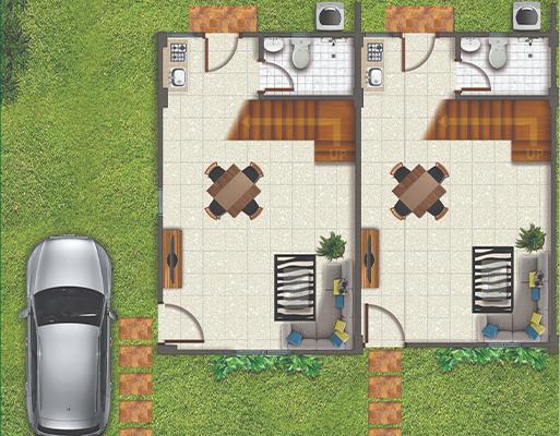 La Aldea Fernandina II Floor Plan Ground
