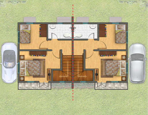 Park Place II Floor Plan Second