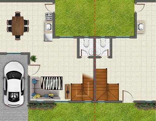 Park Place Batangas Floor Plan Ground Floor