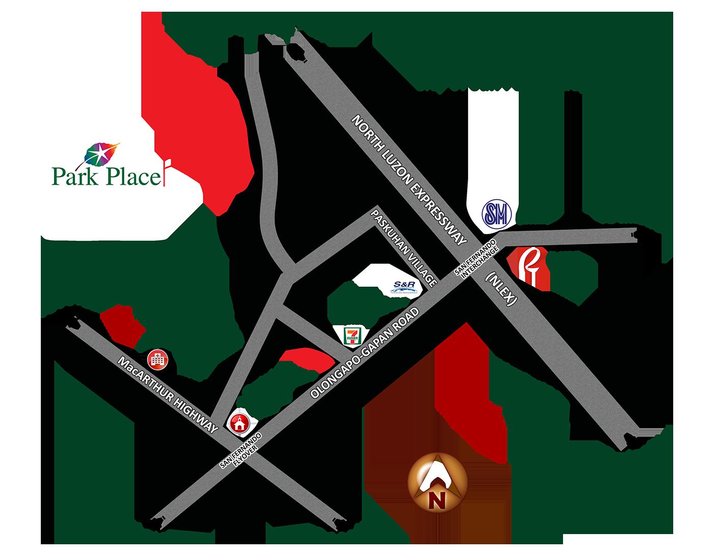 Park Place Location