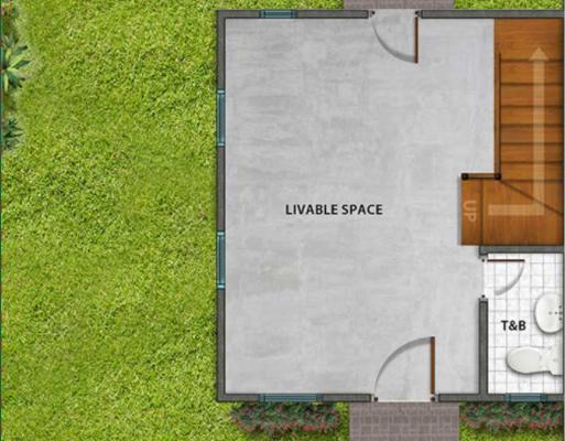 Park Place Pampanga Ph2 Twinhome Floor Plan Ground