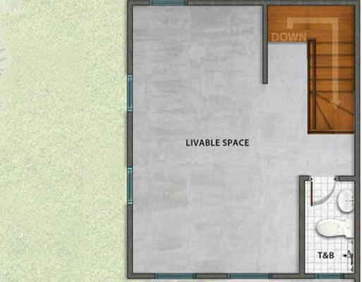 Park Place Pampanga Ph2 Twinhome Floor Plan Second