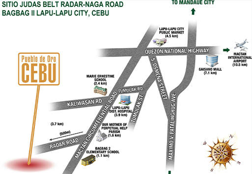 Pdo Cebu Location