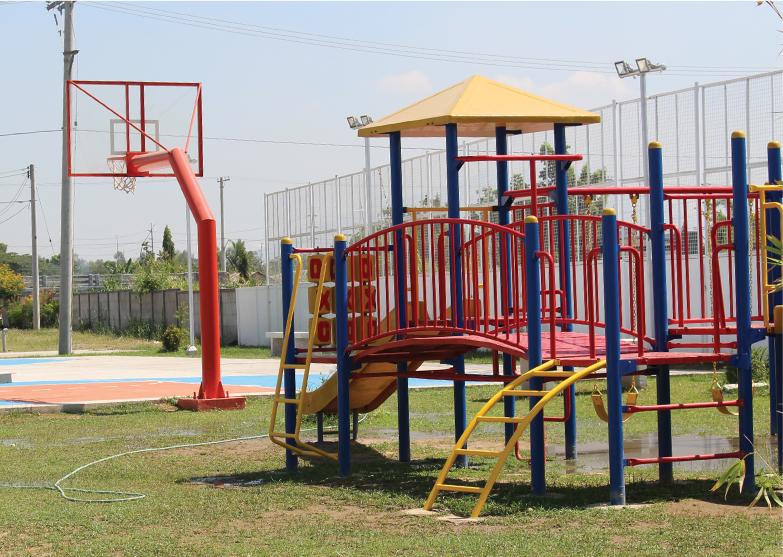 Playground & Basketball Court