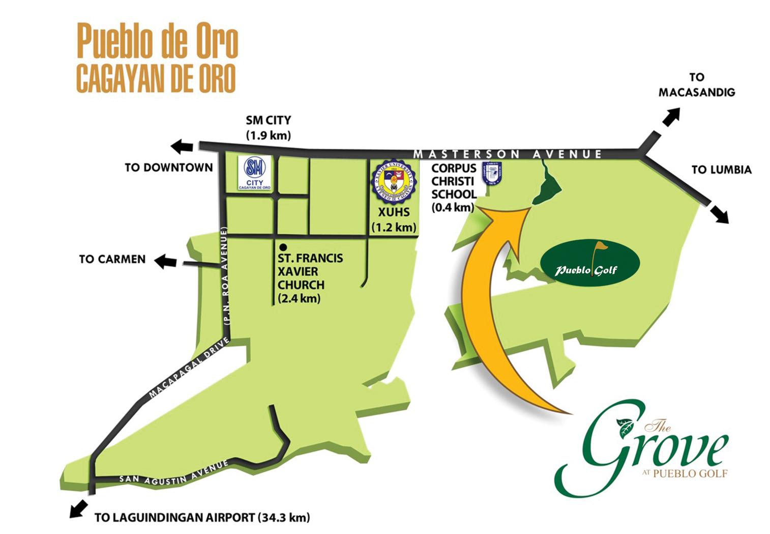 The Grove Location