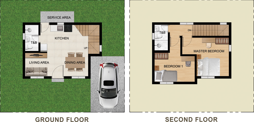 New Horizon Residences Single Detached Floor Plan