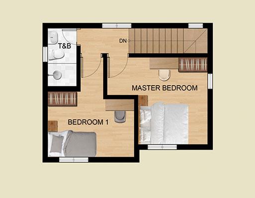 New Horizon Residences Single Detached Second Floor